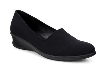 SIYAH Felicia Black/Black Textile/Feather