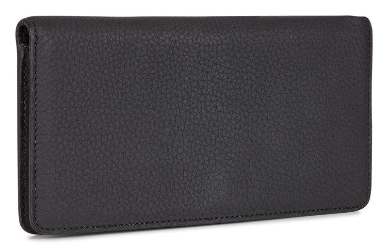 Black Jilin Large Wallet