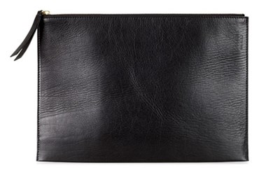 Black ECCO SCULPTURED CLUTCH