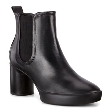 Black ECCO SHAPE SCULPTED MOTION 55 BOOT