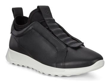 Black ECCO FLEXURE RUNNER