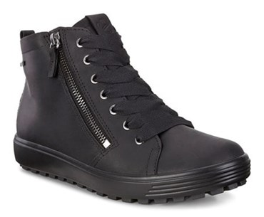 Black ECCO SOFT 7 TRED