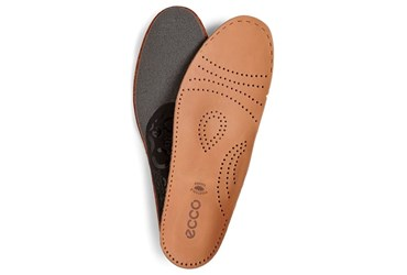 Brown ECCO LEATHER INLAY SOLES