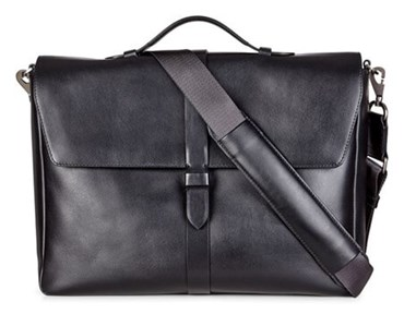 Black ECCO LARS BRIEFCASE