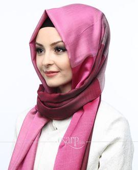 ECARDİN Kırmızı Pembe Renkli Polyester Şal 108141