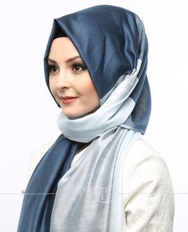 ECARDİN Lacivert Renkli Polyester Şal 108155