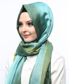 ECARDİN Yeşil Renkli Polyester Şal 108159