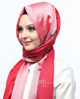 ECARDİN Kırmızı Renkli Polyester Şal 108166
