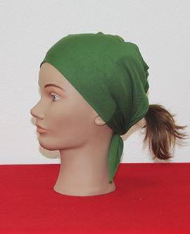 ECARDİN Yeşil Renkli Dikişsiz Bone 108216