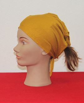 ECARDİN Sarı Renkli Dikişsiz Bone 108217