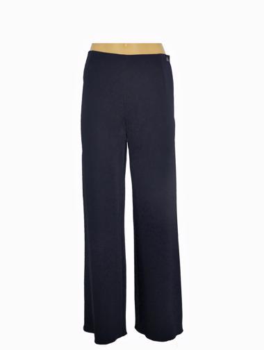 Lacivert Chanel Pantolon