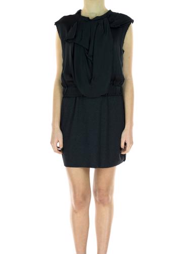 Siyah Lanvin Elbise / Tunik
