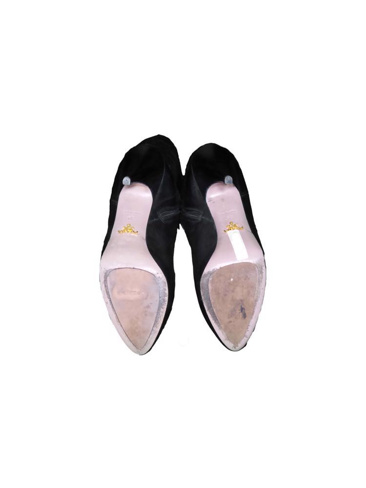 Siyah Prada Çizme
