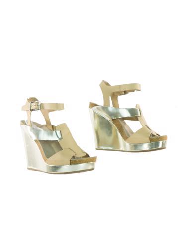 Gümüş Jil Sander Ayakkabı