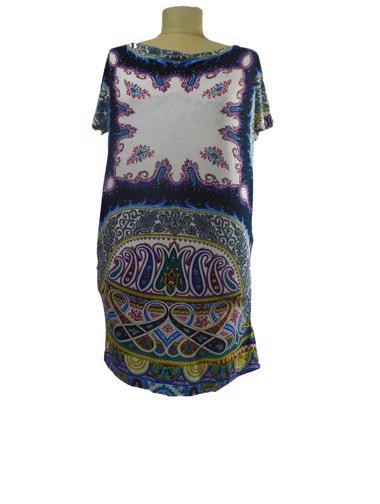 Siyah Etro Elbise / Tunik