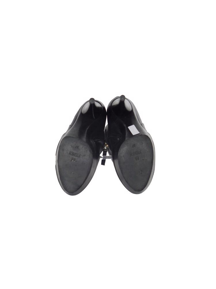 Siyah Fendi Çizme