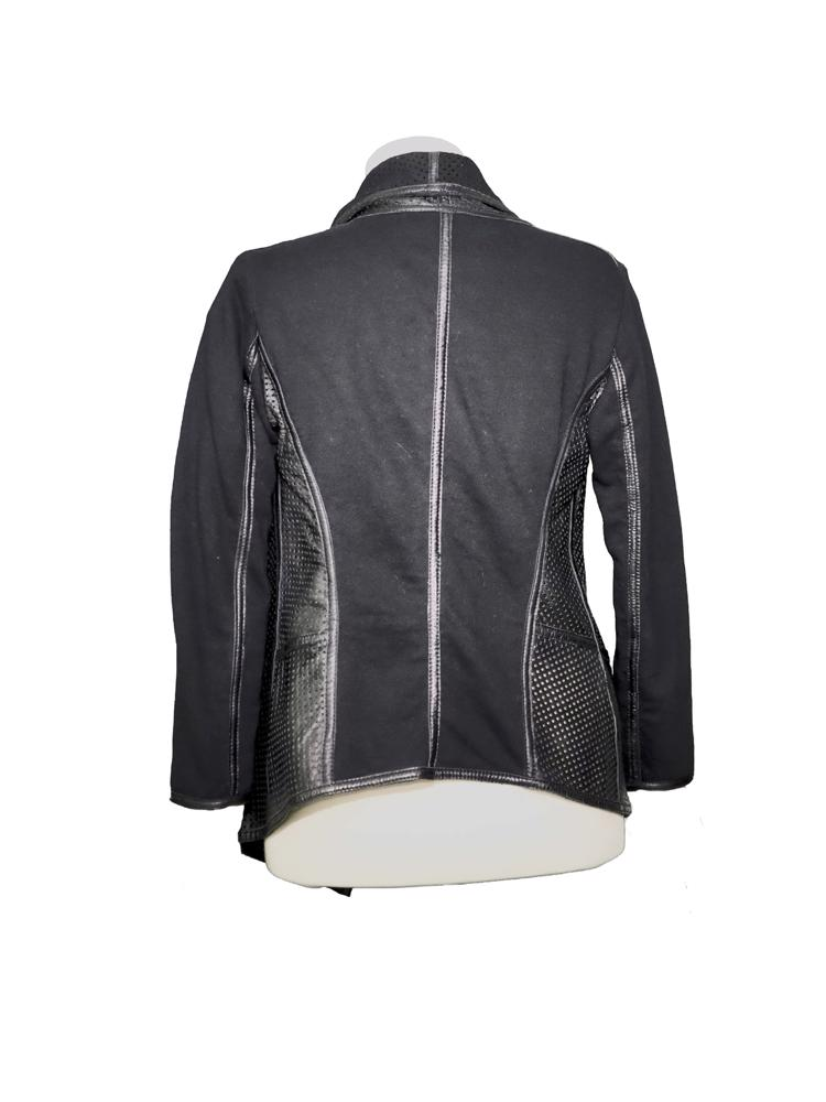 Siyah Pinko Tag Deri Ceket
