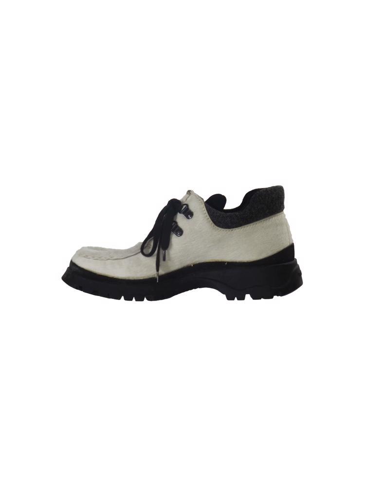 Beyaz Prada Ayakkabı