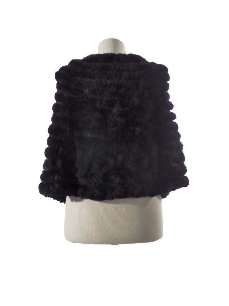Siyah BCBG Max Azria Kürk Ceket