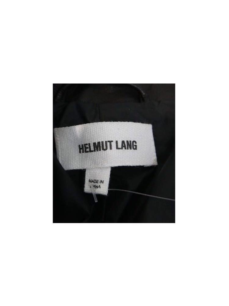 Siyah Helmut Lang Deri Yelek