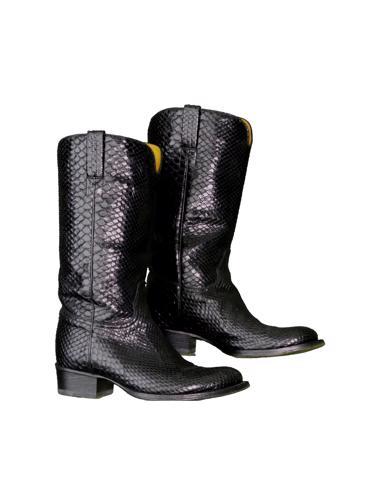 Siyah Ralph Lauren Collection Çizme