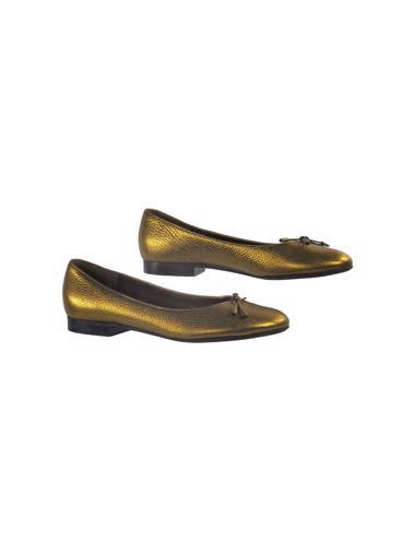 Altın Bruno Magli Ayakkabı
