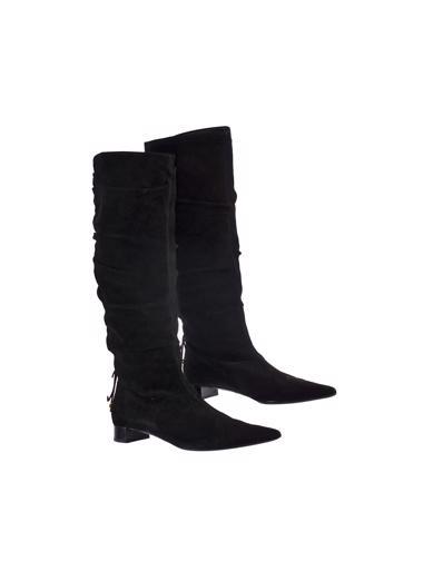 Siyah Gucci Çizme