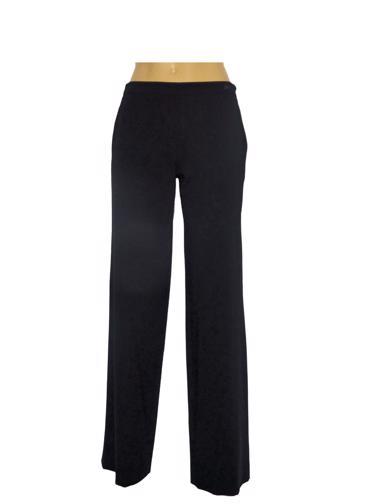 Siyah Chanel Pantolon