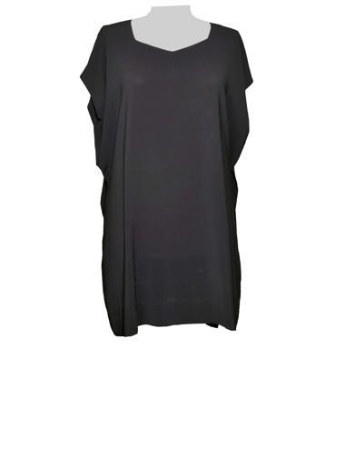 Siyah Issey Miyake Elbise / Tunik