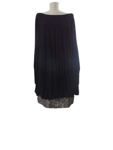 Siyah Badgley Mischka Elbise / Tunik