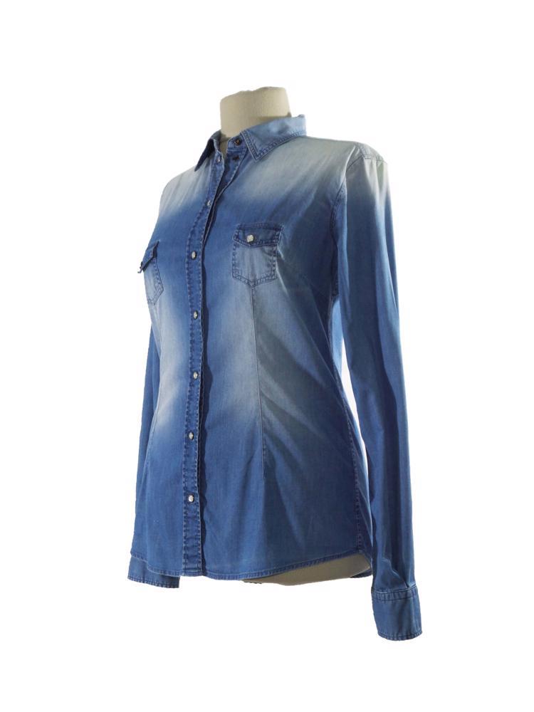 Mavi Dolce&Gabbana Jean Gömlek