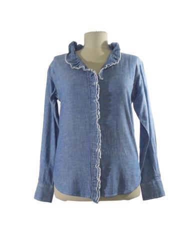 Mavi Isabel Marant Jean Gömlek