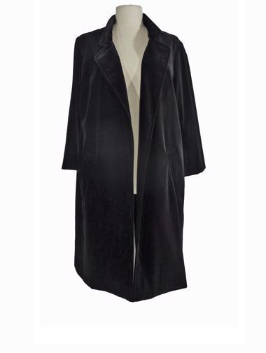 Siyah Mapa Palto