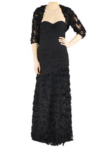 Siyah Dalia MacPhee Elbise - Ceket
