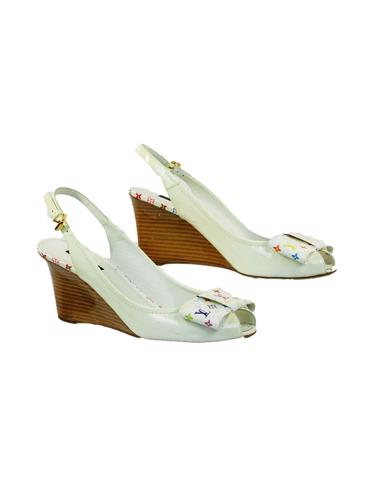 Beyaz Louis Vuitton Ayakkabı