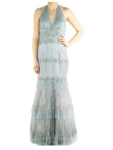 Gümüş Terani Elbise
