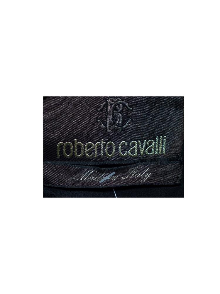 Siyah Roberto Cavalli Bluz / Yelek