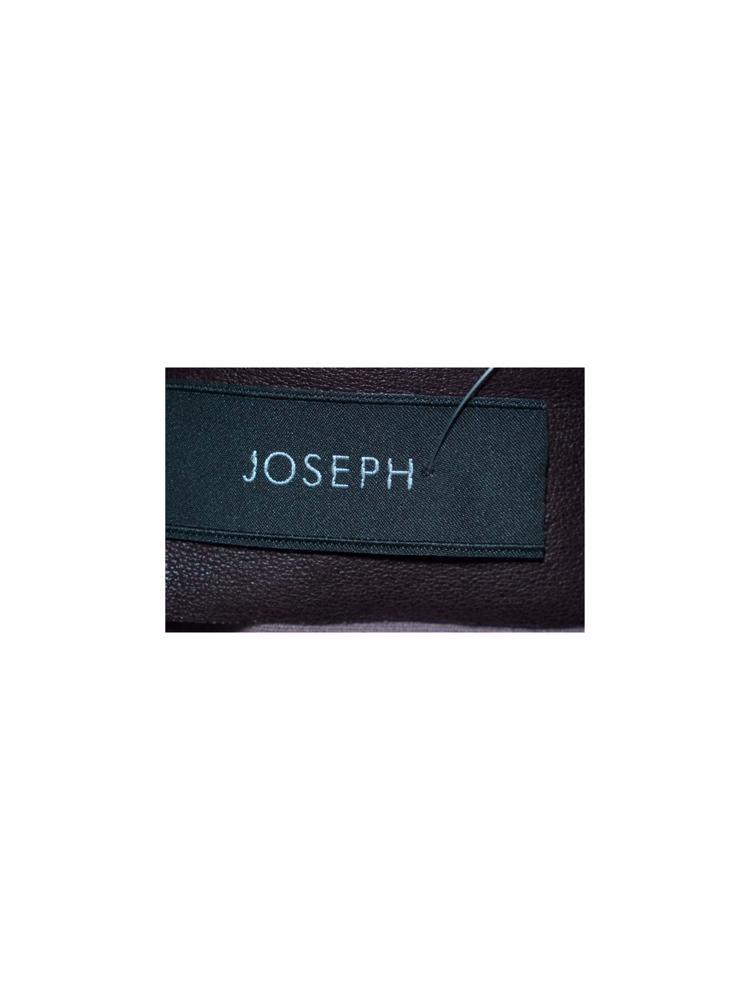 Kırmızı Joseph Deri Etek