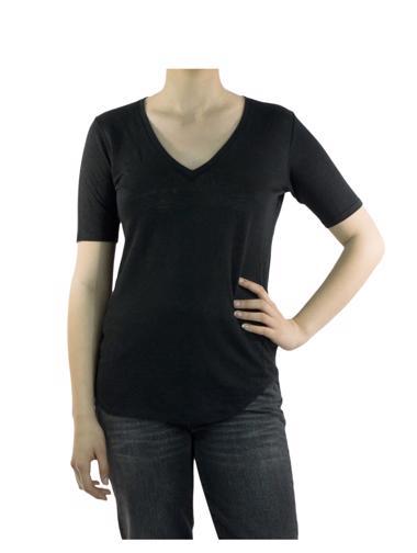 Siyah Sandro T-Shirt