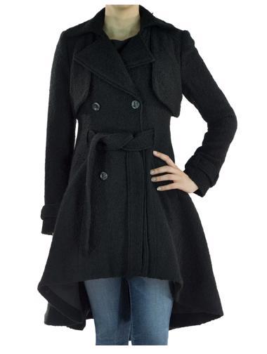 Siyah Bebe Palto