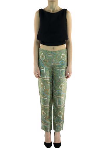 Yeşil Prada Pantolon
