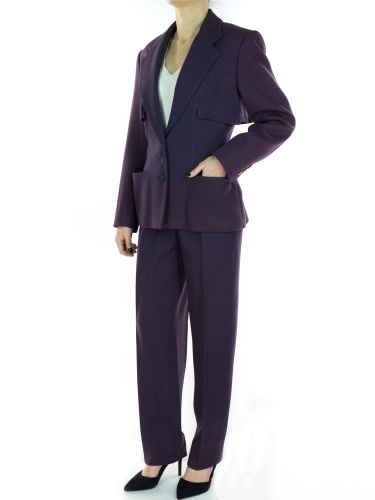 Mor Alaia Pantolon - Ceket