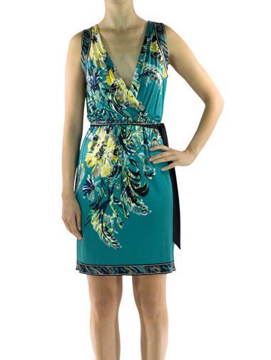 Yeşil Elie Tahari Elbise