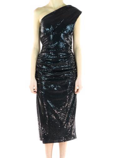 Siyah Nicole Bakti Elbise