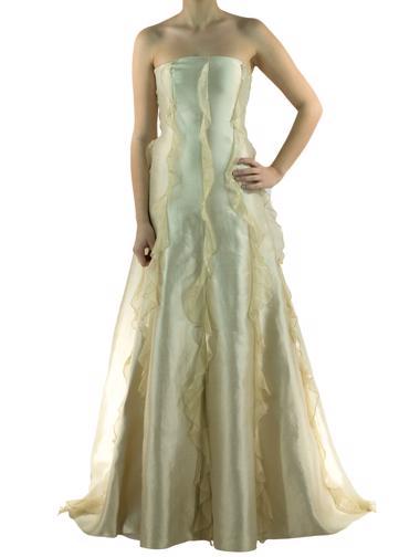 Krem Valentino Boutique Elbise