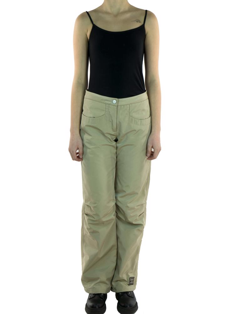 Bej Chanel Pantolon