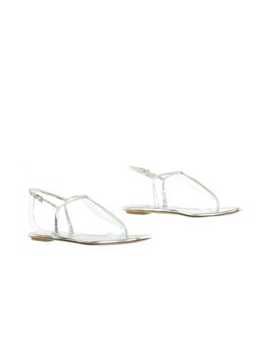 Gümüş Prada Ayakkabı