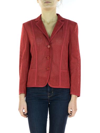 Kırmızı Akris Punto Ceket