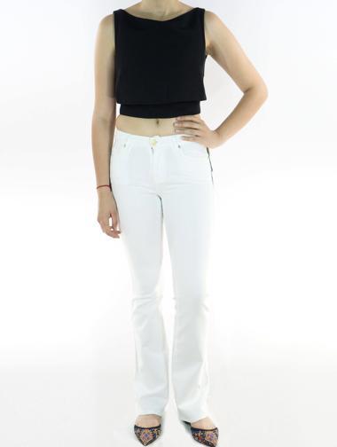 Beyaz Seven Jean Pantolon