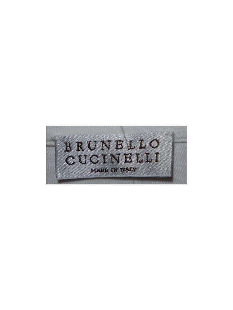 Beyaz Brunello Cucinelli Bluz
